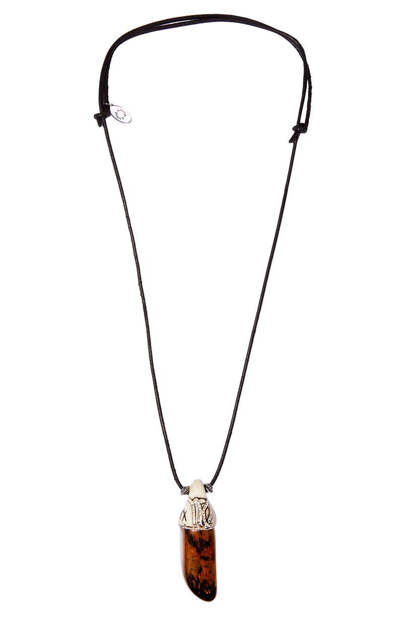 Kette TIGERAUGE mit Sternzeichen-Symbol Jungfrau